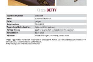 Betty_TASSO_Suchplakat_S2610518