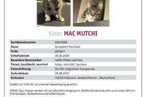 mac mutchi suchmeldung
